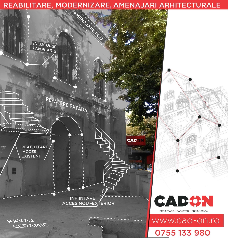 Proiecte extindere casă, reabilitare, modernizare si amenajari arhitecturale
