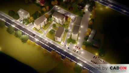 ansamblu, ansamblu locuinte colective, demisol, parter si 5 etaje, locuinta incapatoare, proiect locuinte