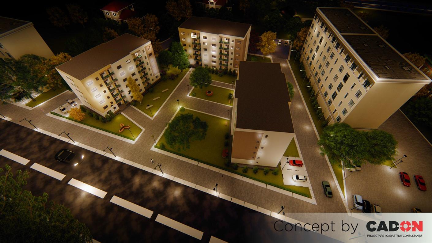 ansamblu, ansamblu locuinte colective, demisol, parter si 5 etaje, locuinta incapatoareproiect locuinte