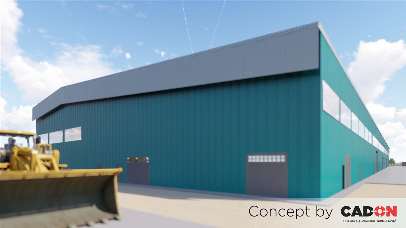 Fabrica, Fabrica BCA, Cad-on.ro, constructii industriale