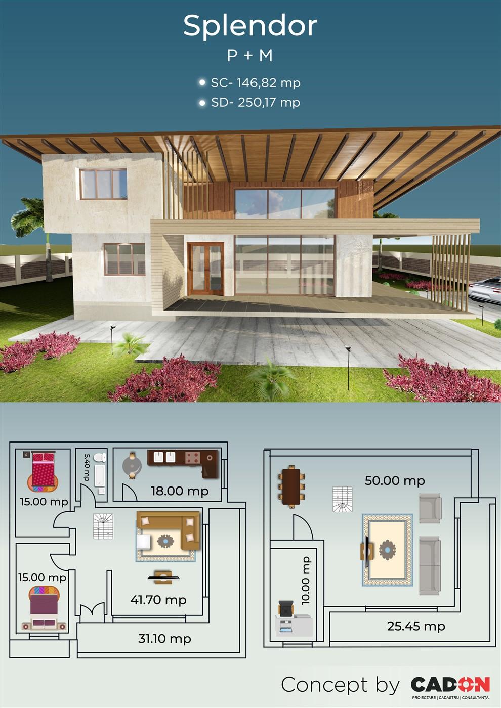 Model prezentare Splendor site