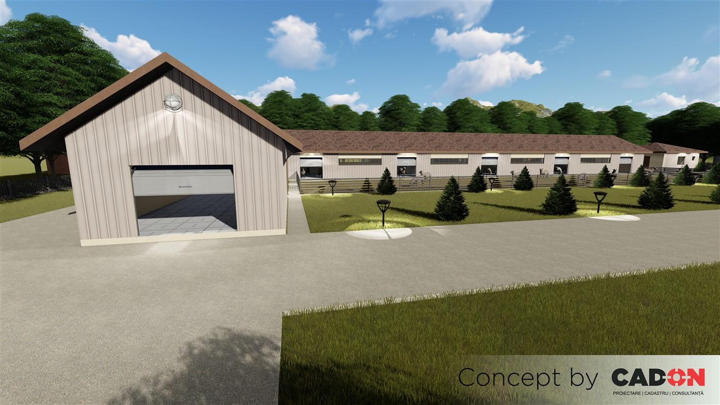 complex, complex zootehnic de oi, Cad-on.ro, constructii industrial