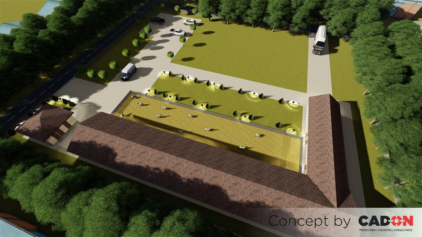 complex, complex zootehnic de oi, Cad-on.ro, constructii industriale