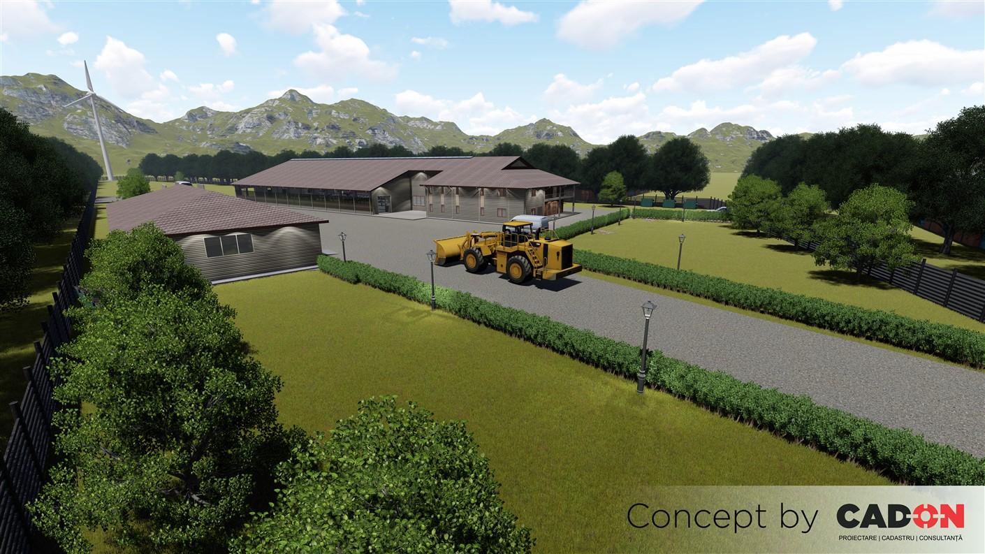 complex, complex zootehnic de vite, Cad-on.ro, constructii industriale