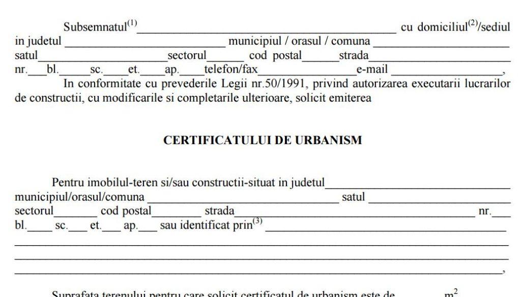 certificat-de-urbanism-cerere